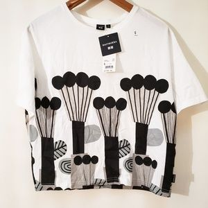 UNIQLO x Marimekko New With Tags Balloon Print Tee